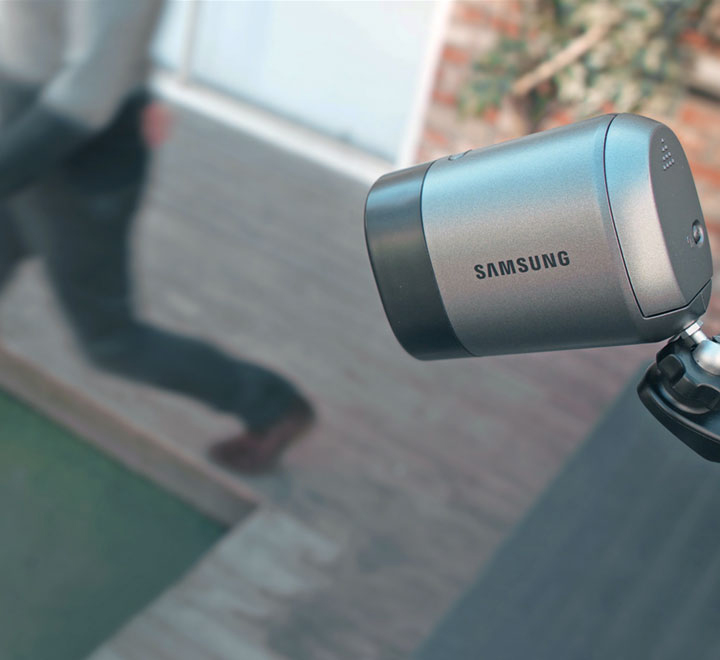 Motion detection and built-in mic