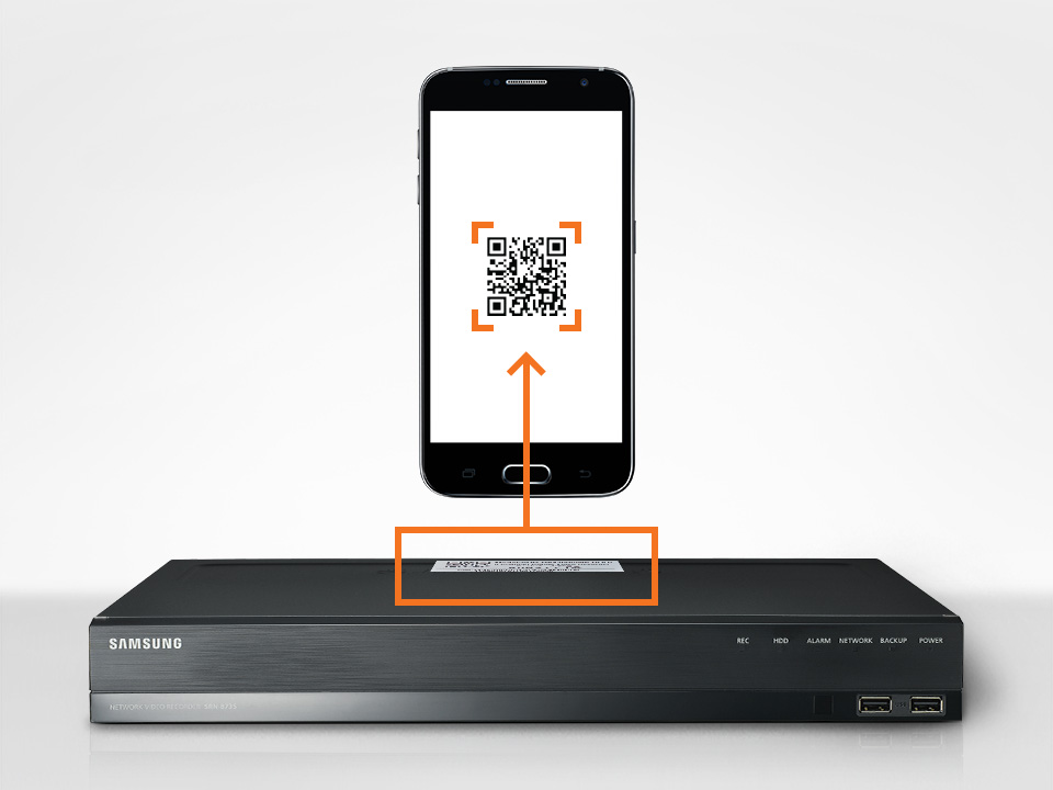 QR Code, One shot installation with WiseView app