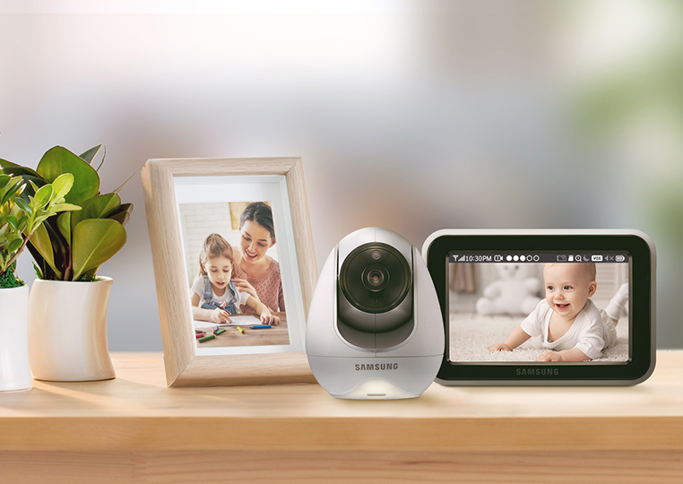 Samsung BabyView Basic SEW-3053W Stay connected