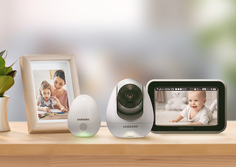 Samsung BabyView Premium SEW-3057W Stay connected