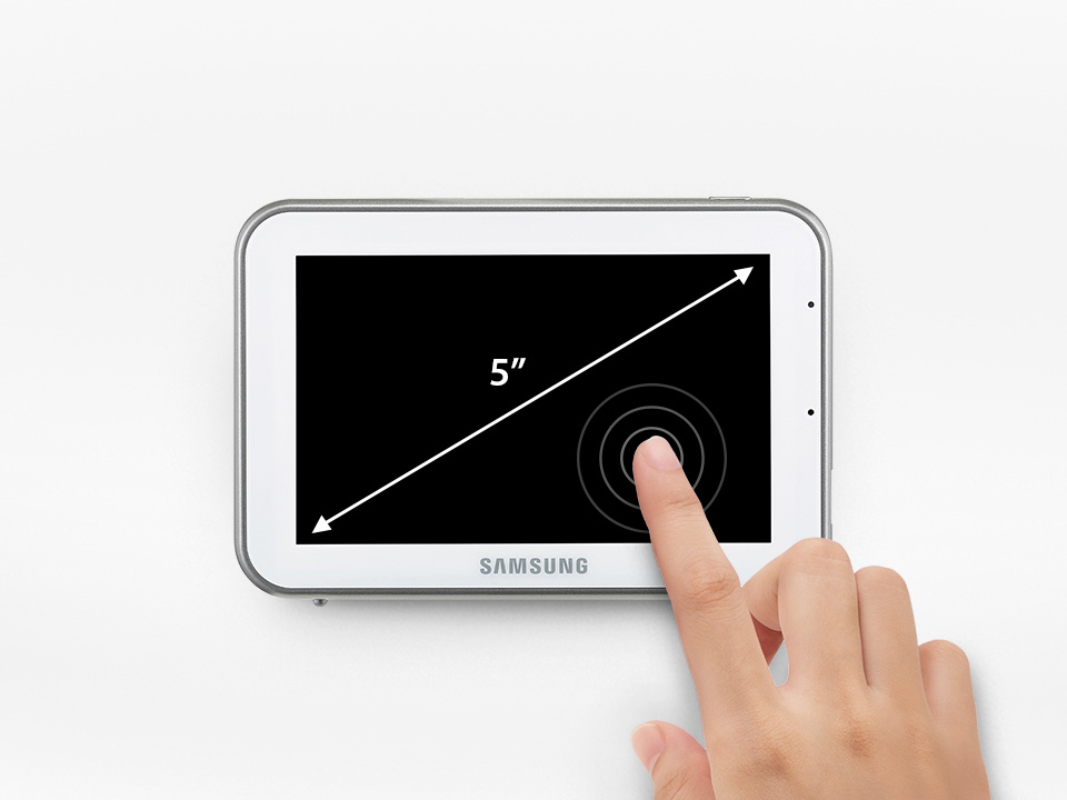 Samsung BabyView SEW-3043W Monitor size