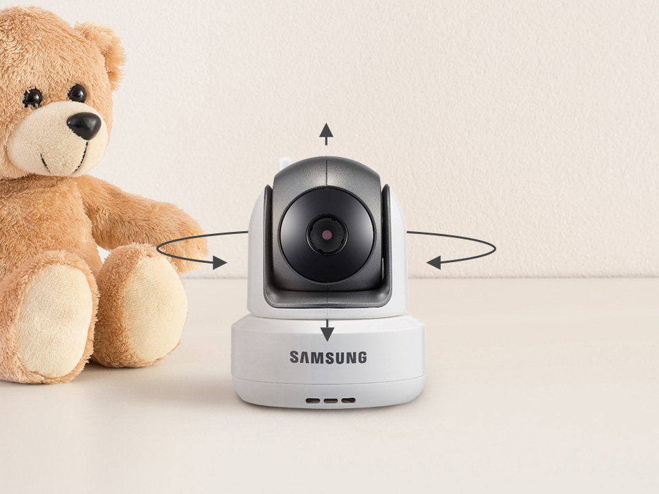 Samsung BabyView SEW-3043W Pan, Tilt and Zoom (PTZ)