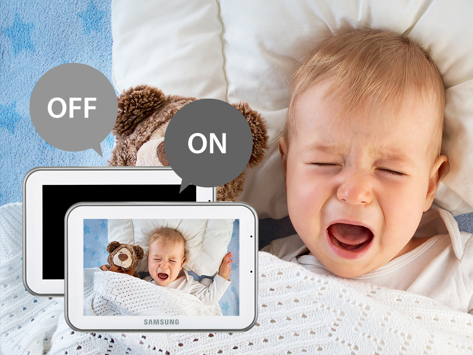 Samsung BabyView SEW-3043W Quiet mode (VOX)