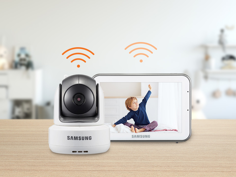 Samsung BabyView SEW-3043W 2.4GHz secured RF signal