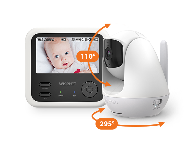 BabyView-Eco-SEW-3049W-High-Quality-Video-Monitoring-with-Pan-and-Tilt