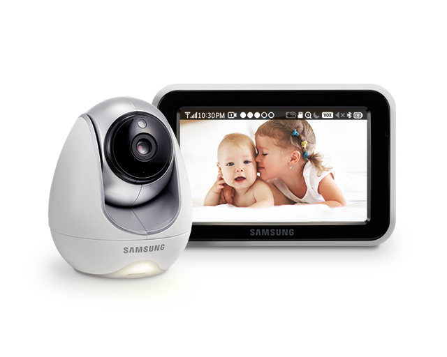 Samsung BabyView Premium SEW-3057W High Quality Video Monitoring with Pan and Tilt