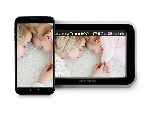 Samsung BabyView Premium SEW-3057W Easy Live Streaming