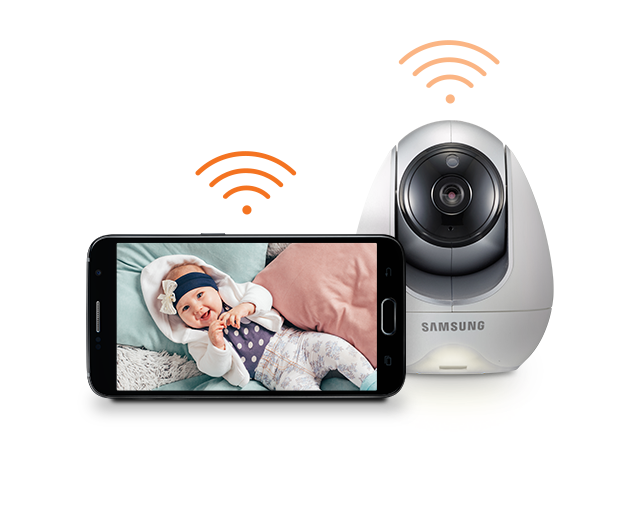 Samsung BabyView Premium SEW-3057W Reliable Wifi Connectivity